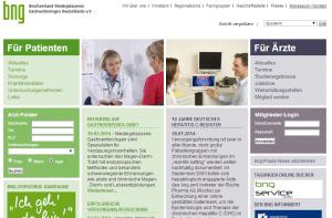 Startseite - bng - Berufsverband Niedergelassener Gastroenterologen Deutschlands e.V.